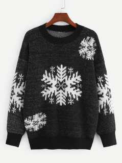 Christmas Snowflake Jumper
