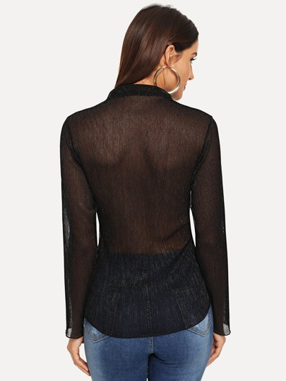 Блузка  Чёрный цвета