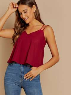 Double Strap Cami Top