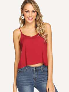 Caged Insert Cami Top
