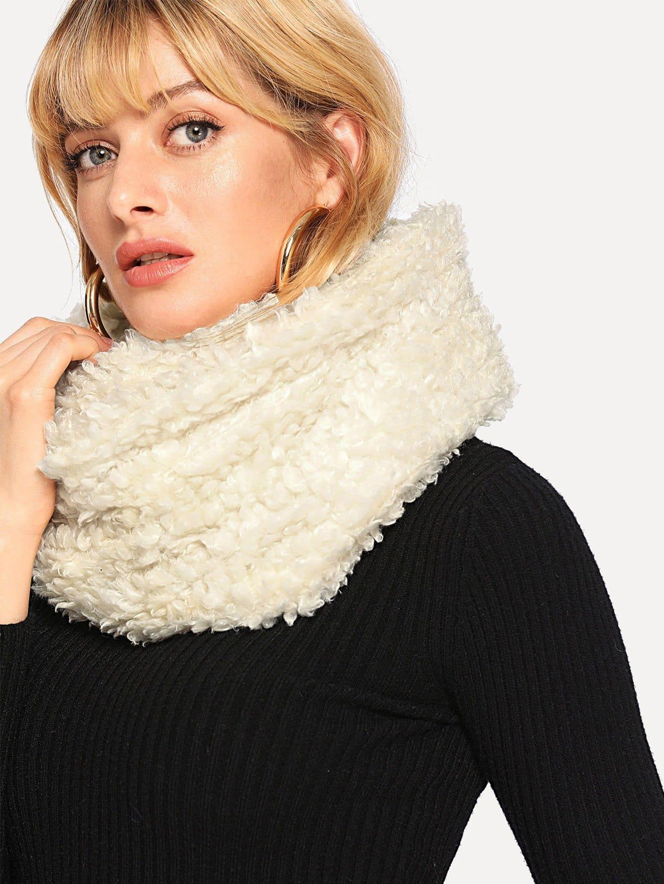 Купить Бесконечный простой шарф, null, SheIn