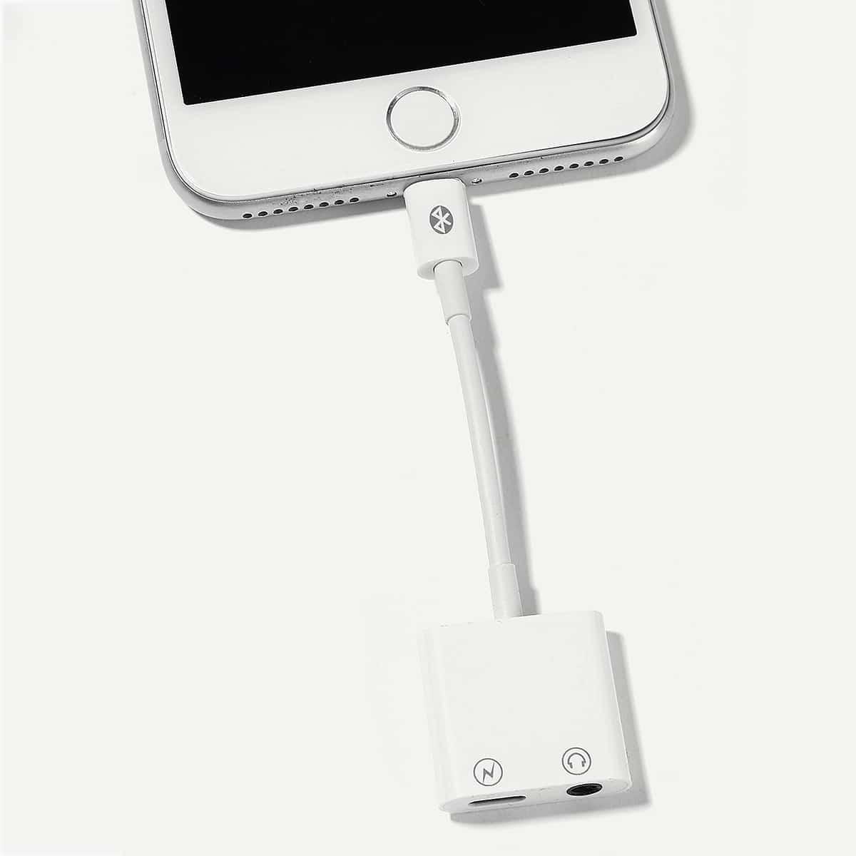 iPhone Audio-oplaadadapter