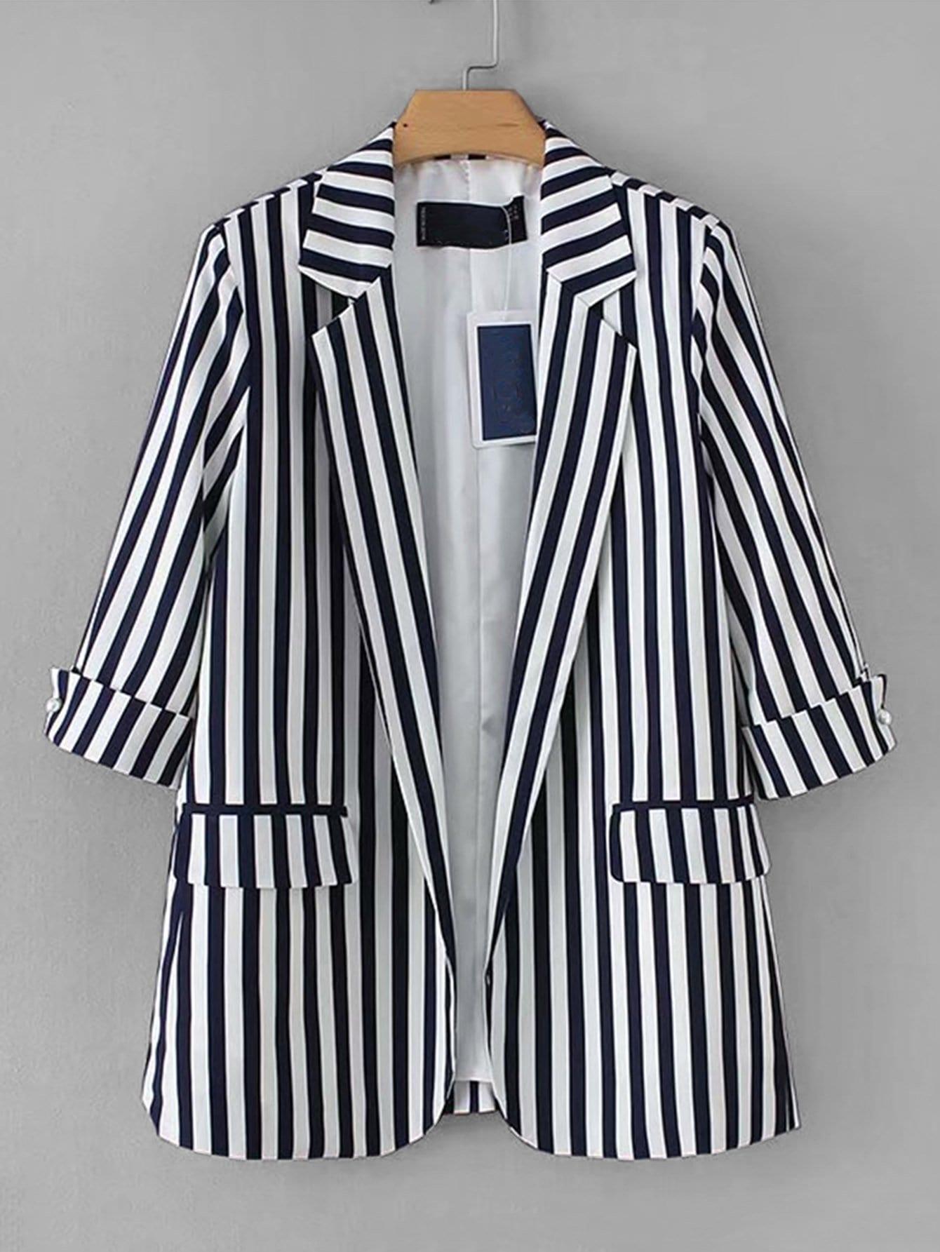 Пиджак  Чёрнобелые цвета