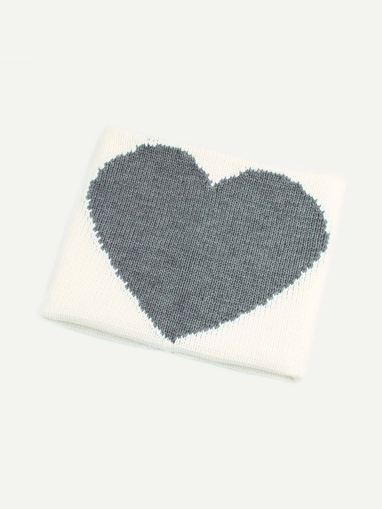 Купить Одеяло с принтом сердцей для детей, null, SheIn