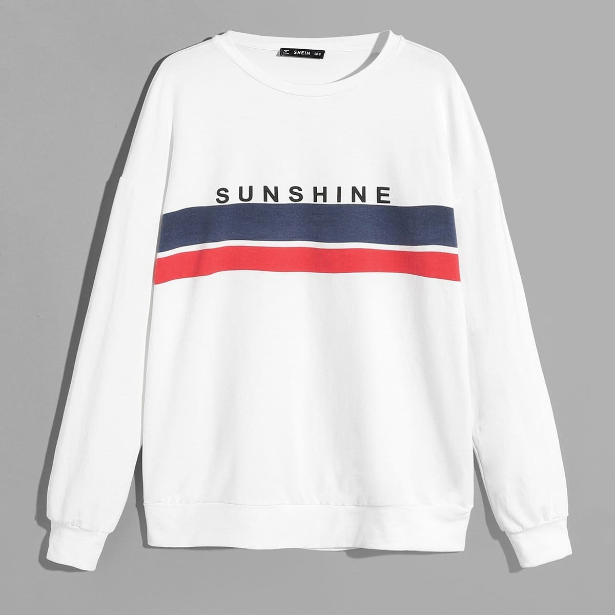 Beige Casual Tekst Sweatshirts voor heren