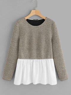 Color-Block Pullover