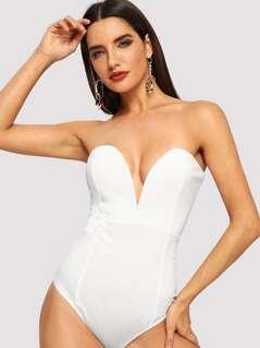 Sweetheart Bustier Bodysuit