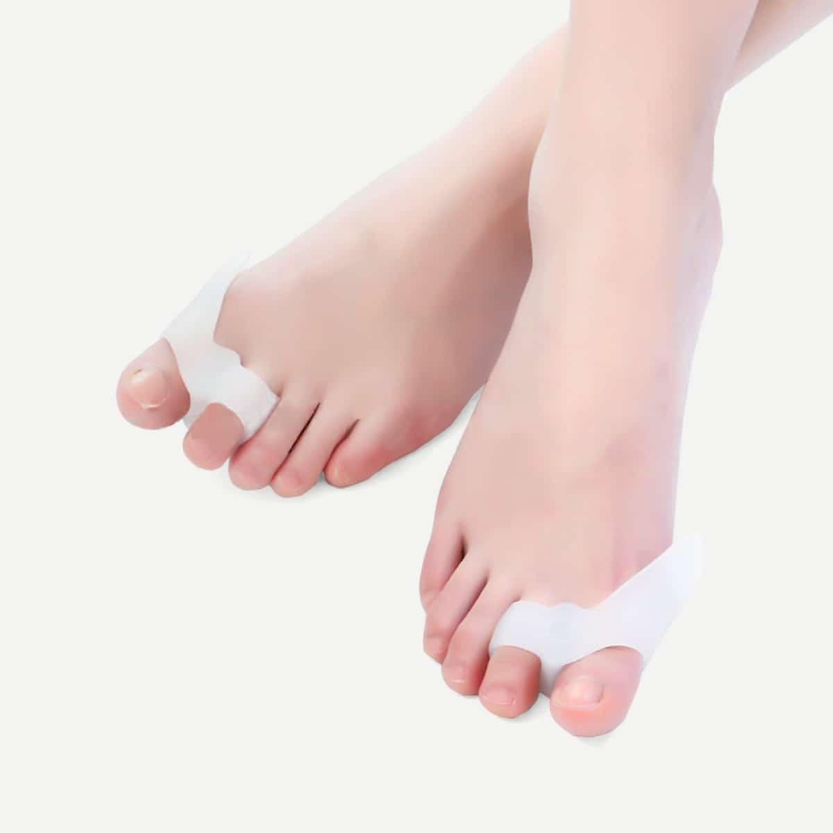 Siliconen Big Toe Corrector 1 paar