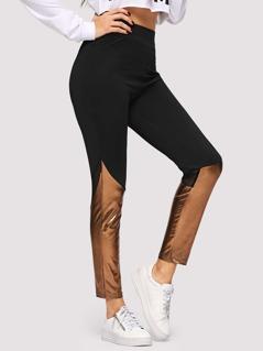 Solid Skinny Leggings