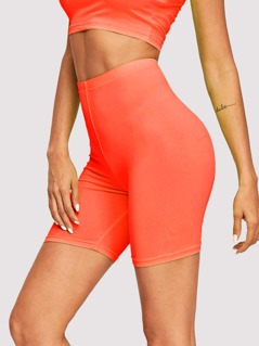 Solid Cycling Shorts