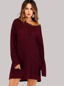 Sweater | Dress | Lace