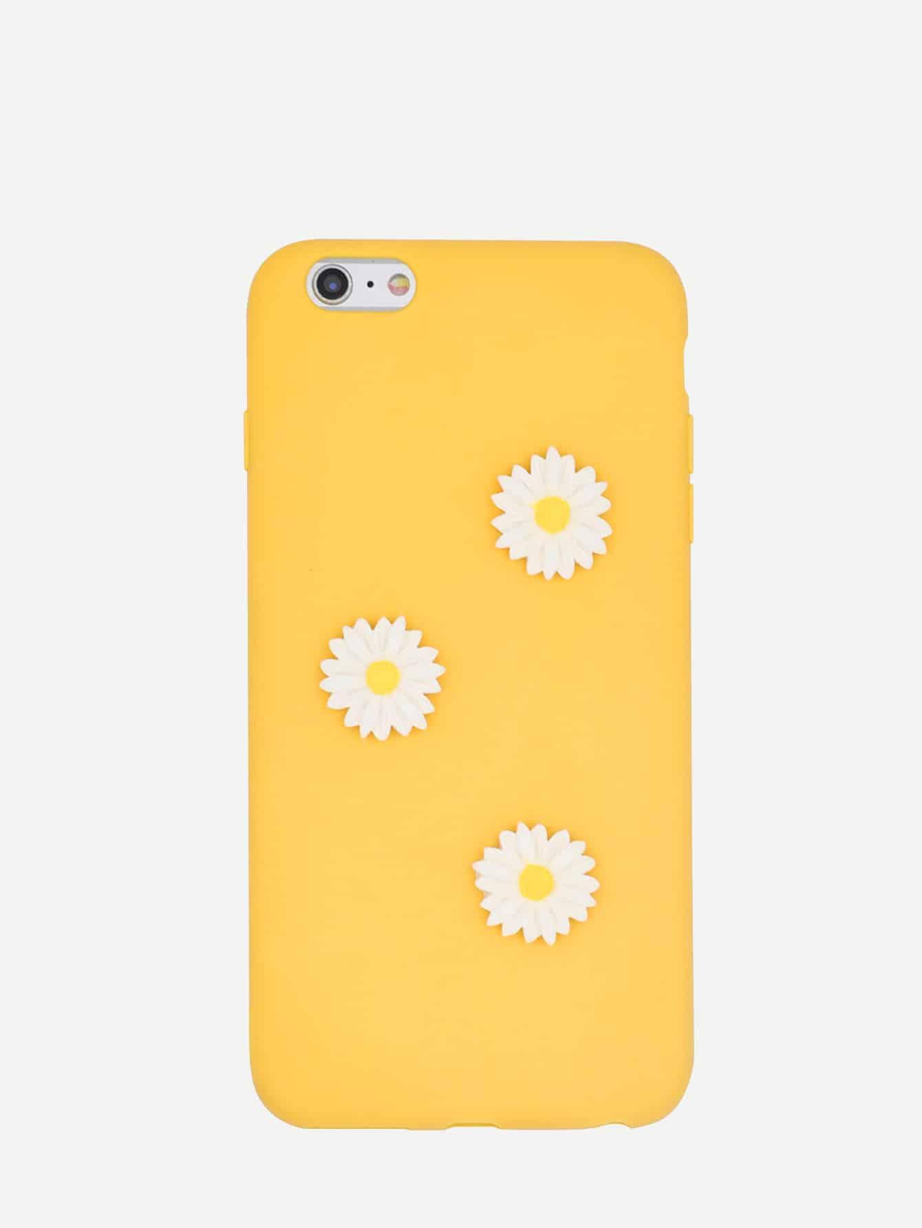Купить Daisy Decor iPhone Case, null, SheIn