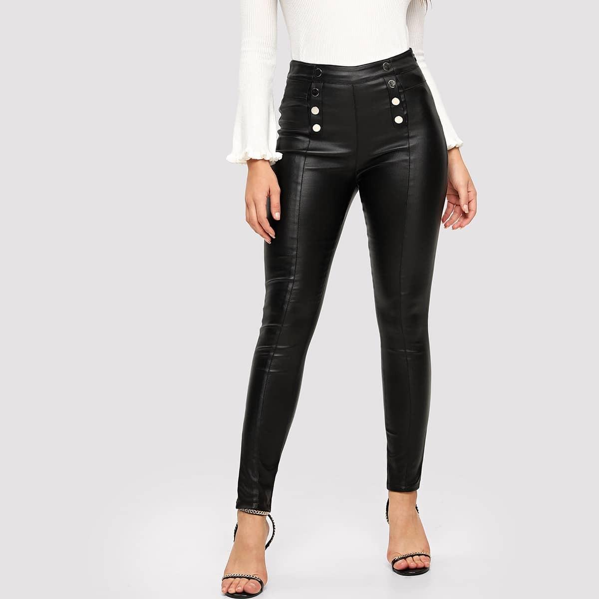 Обтягивающие джинсы Скинни