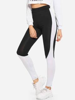 Cut-and-Sew Leggings