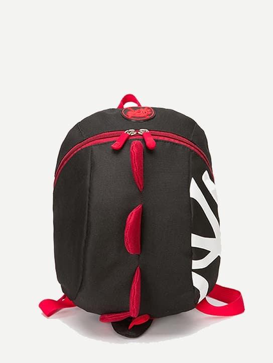 Купить Круглый рюкзак с застёжкой молния для детей, null, SheIn