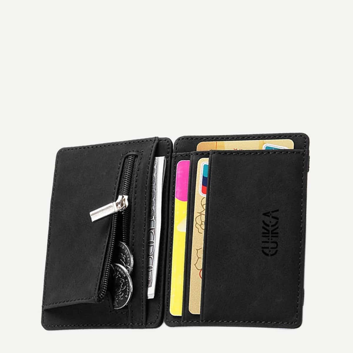 Съемный кожаный кошелёк от SHEIN