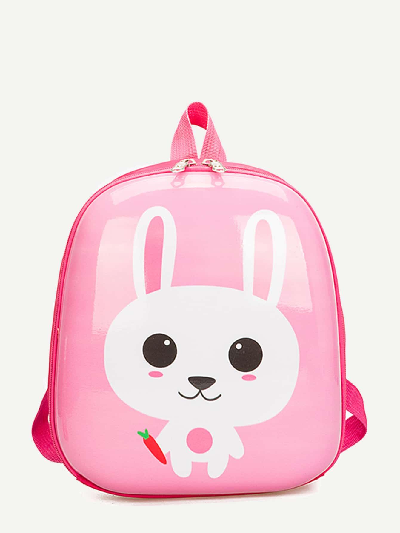Купить Рюкзак с принтом кролика для детей, null, SheIn
