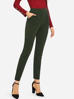 Pocket Side Skinny Pants