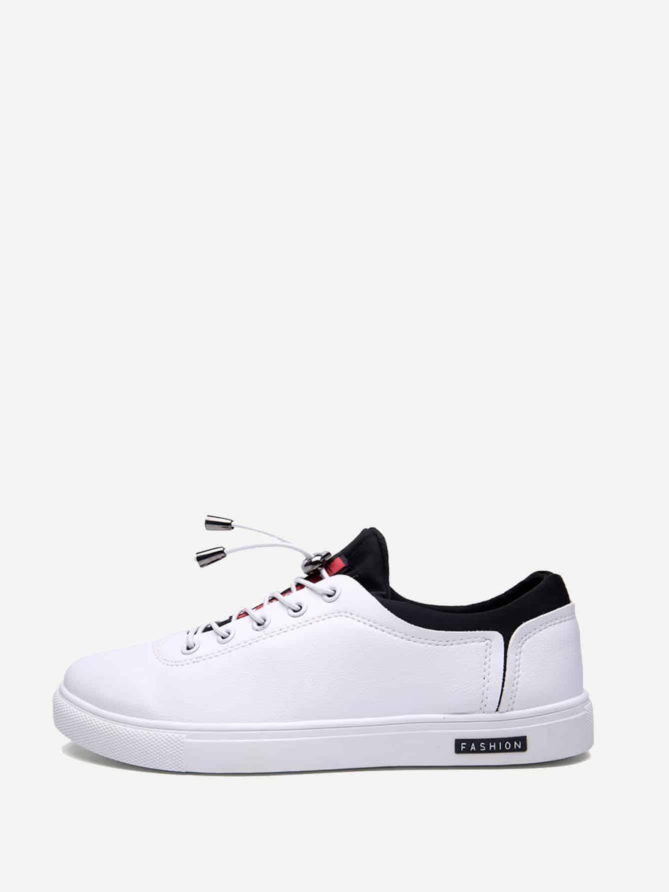 Купить Мужская спортивная обувь с шнуровкой, null, SheIn