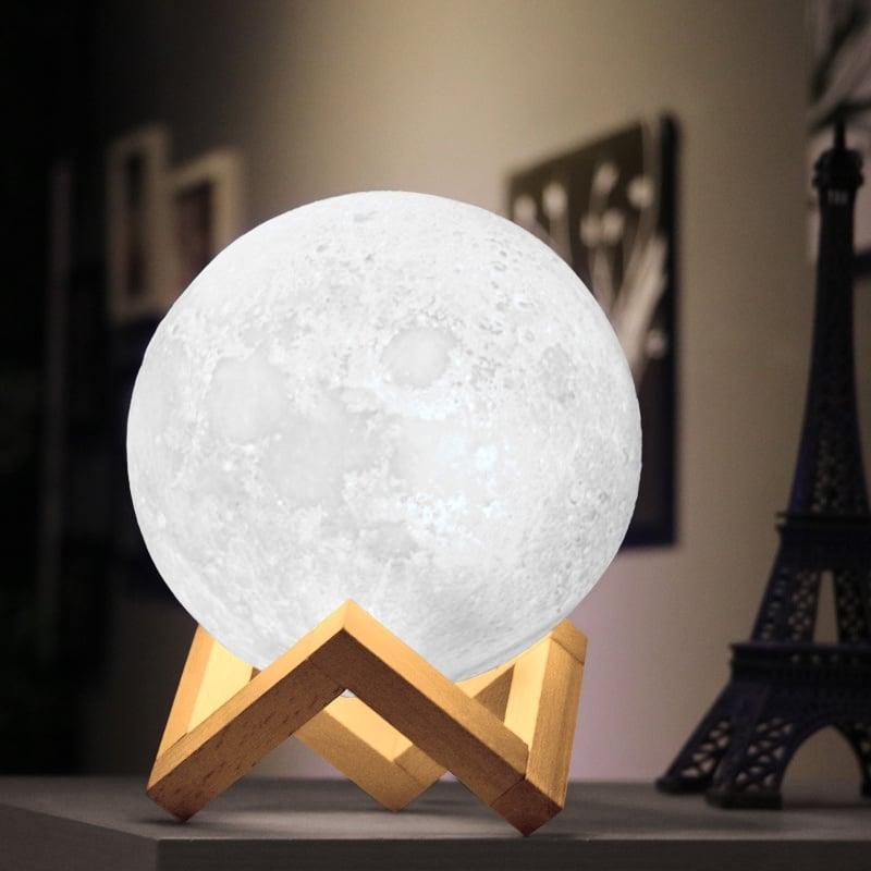 Maanvormige tafellamp 12V