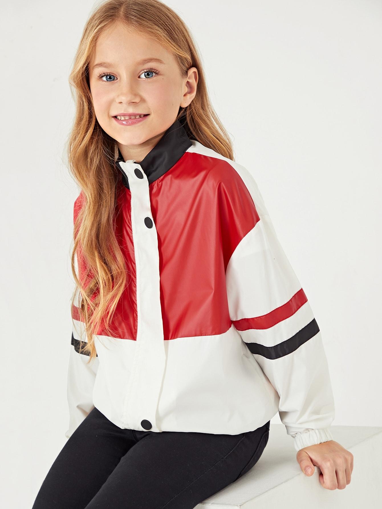 Купить Для девочек кроить и шить куртка, Masha. P, SheIn
