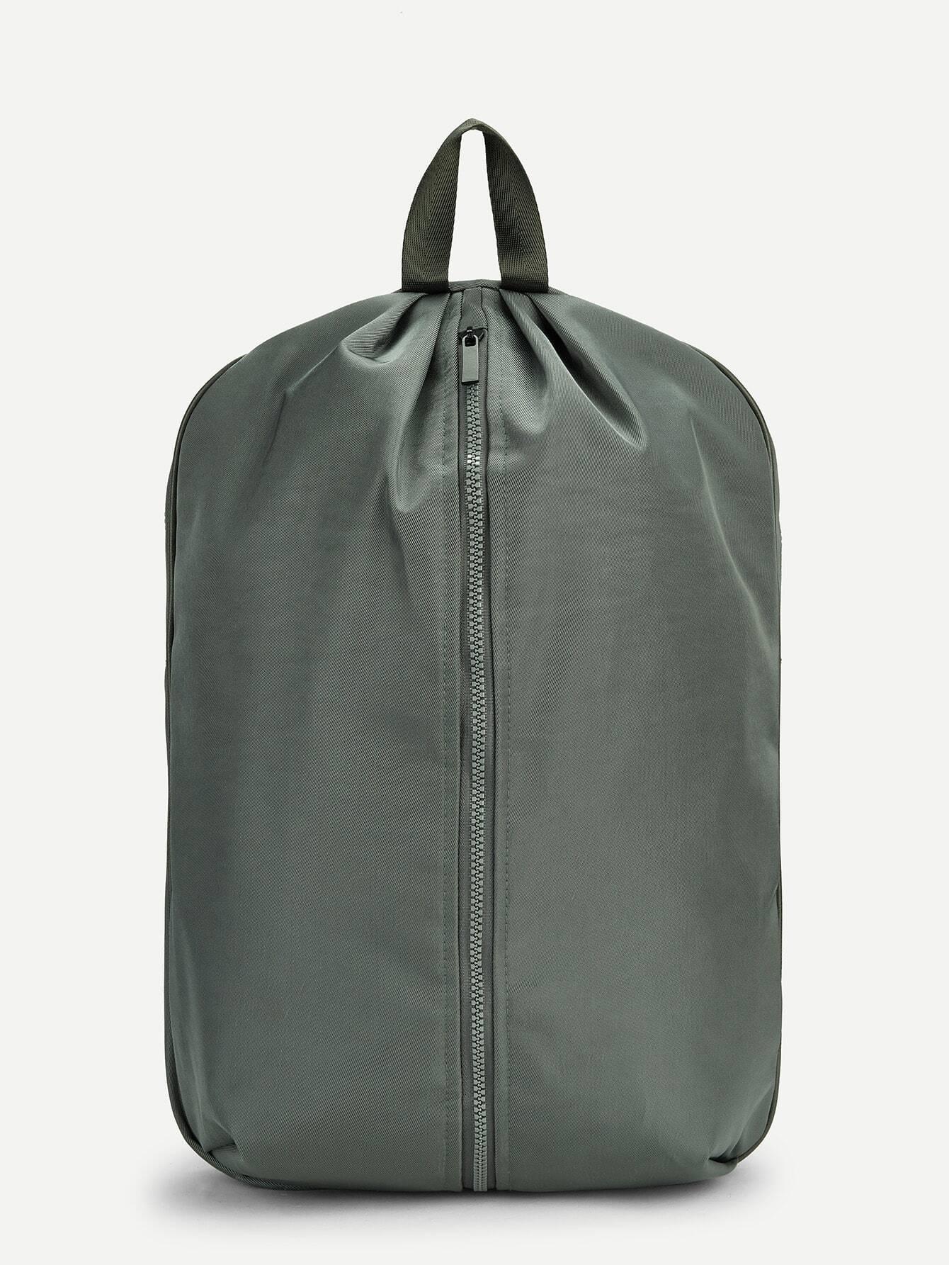 Купить Мужский рюкзак с застёжкой молния, null, SheIn