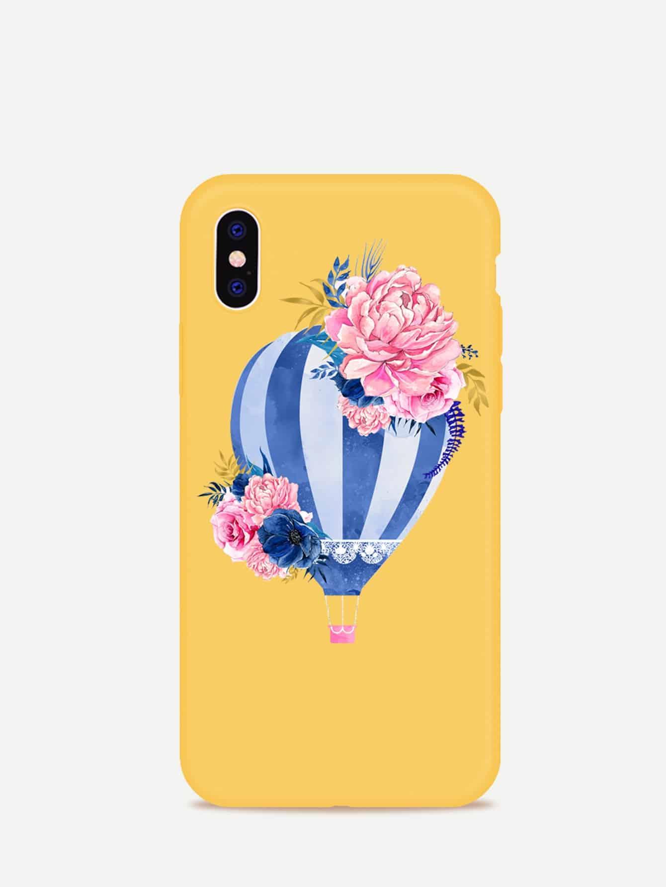 Купить Корпус iPhone с воздушным шариком, null, SheIn