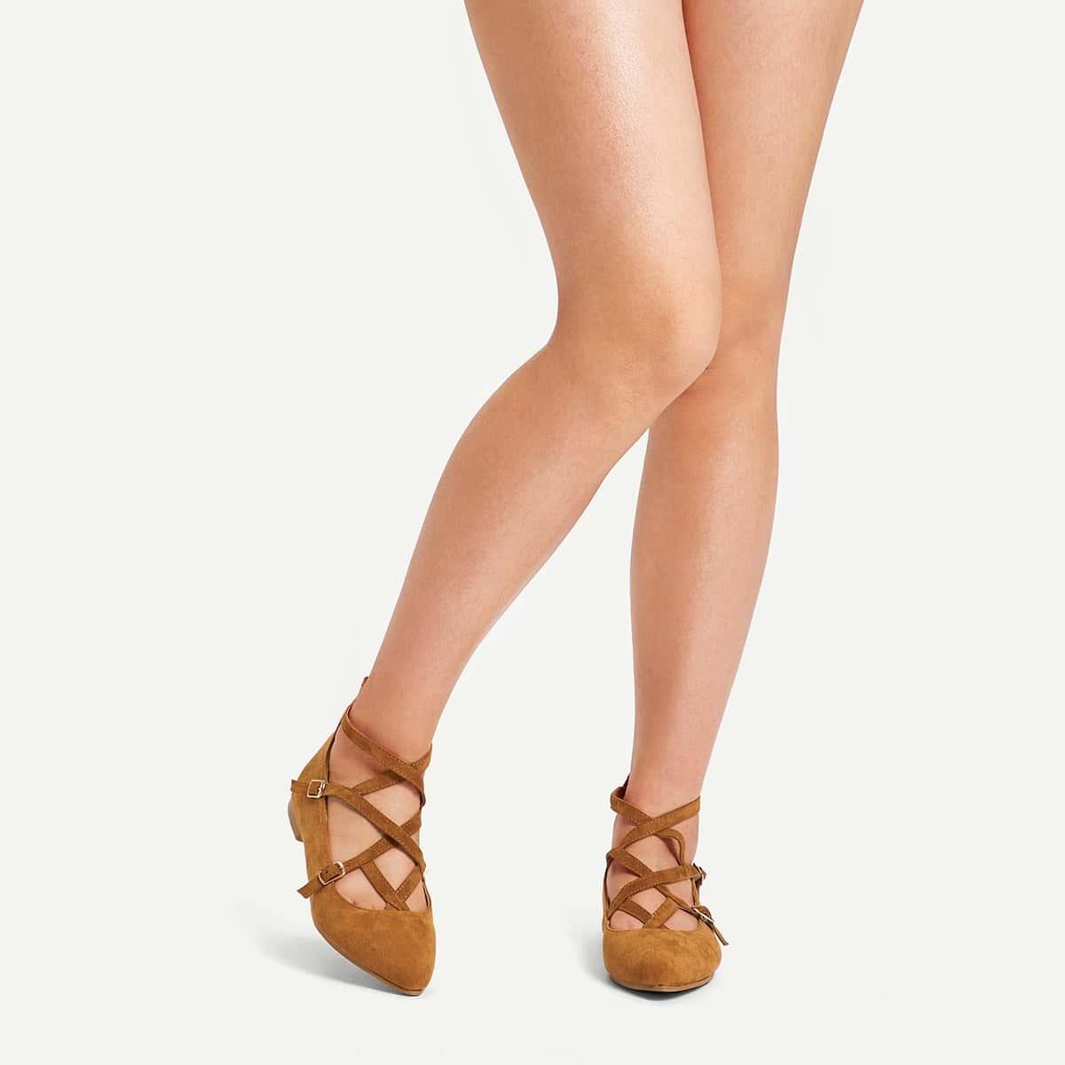 Bruin Elegant Ballerina's Gesp