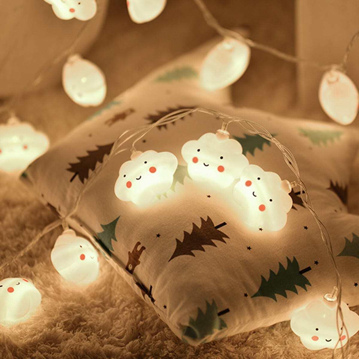 10st Cloud Bulb String Light 12v