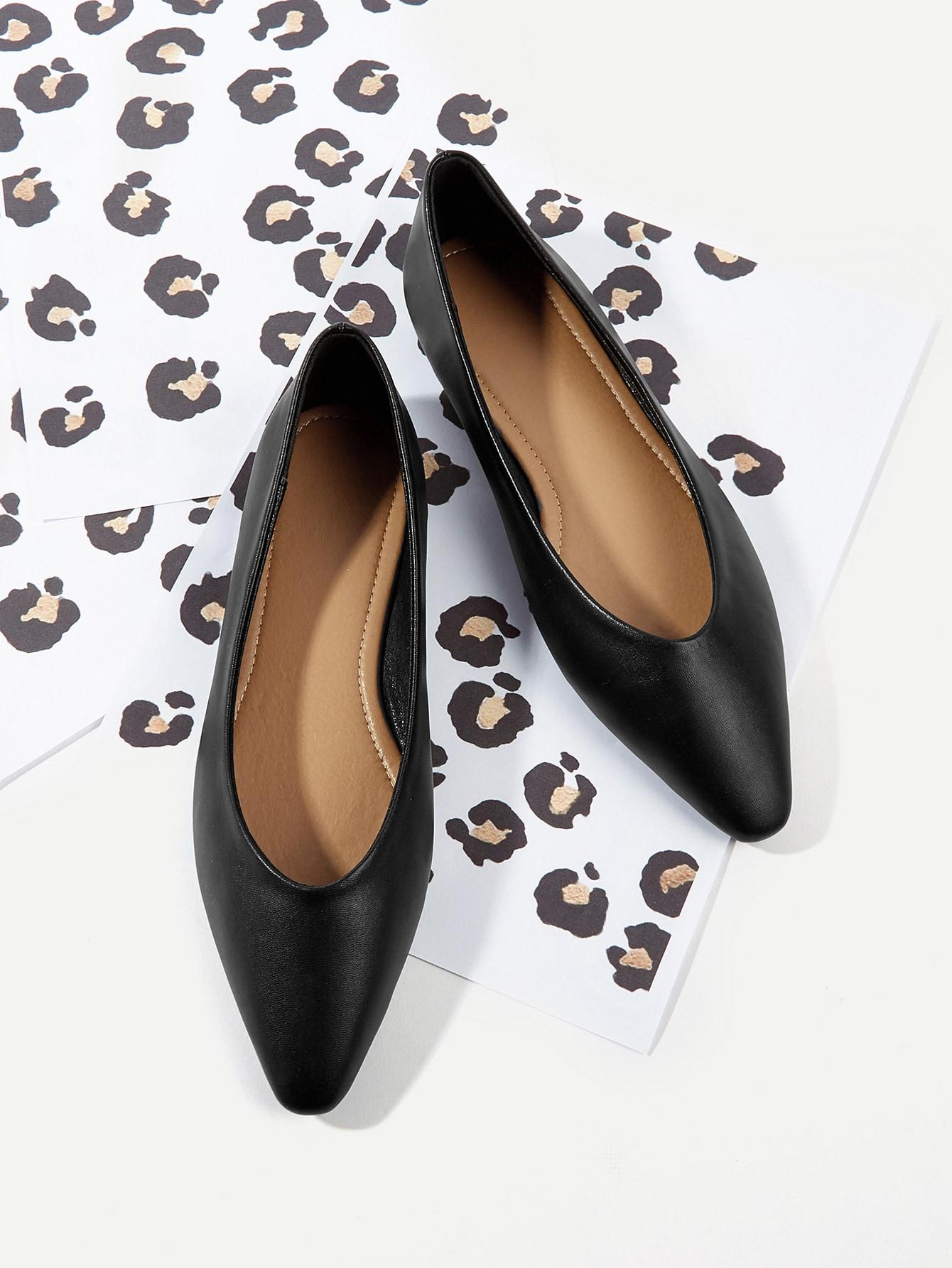 Купить Туфли на плоской подошве без шнуровки, null, SheIn