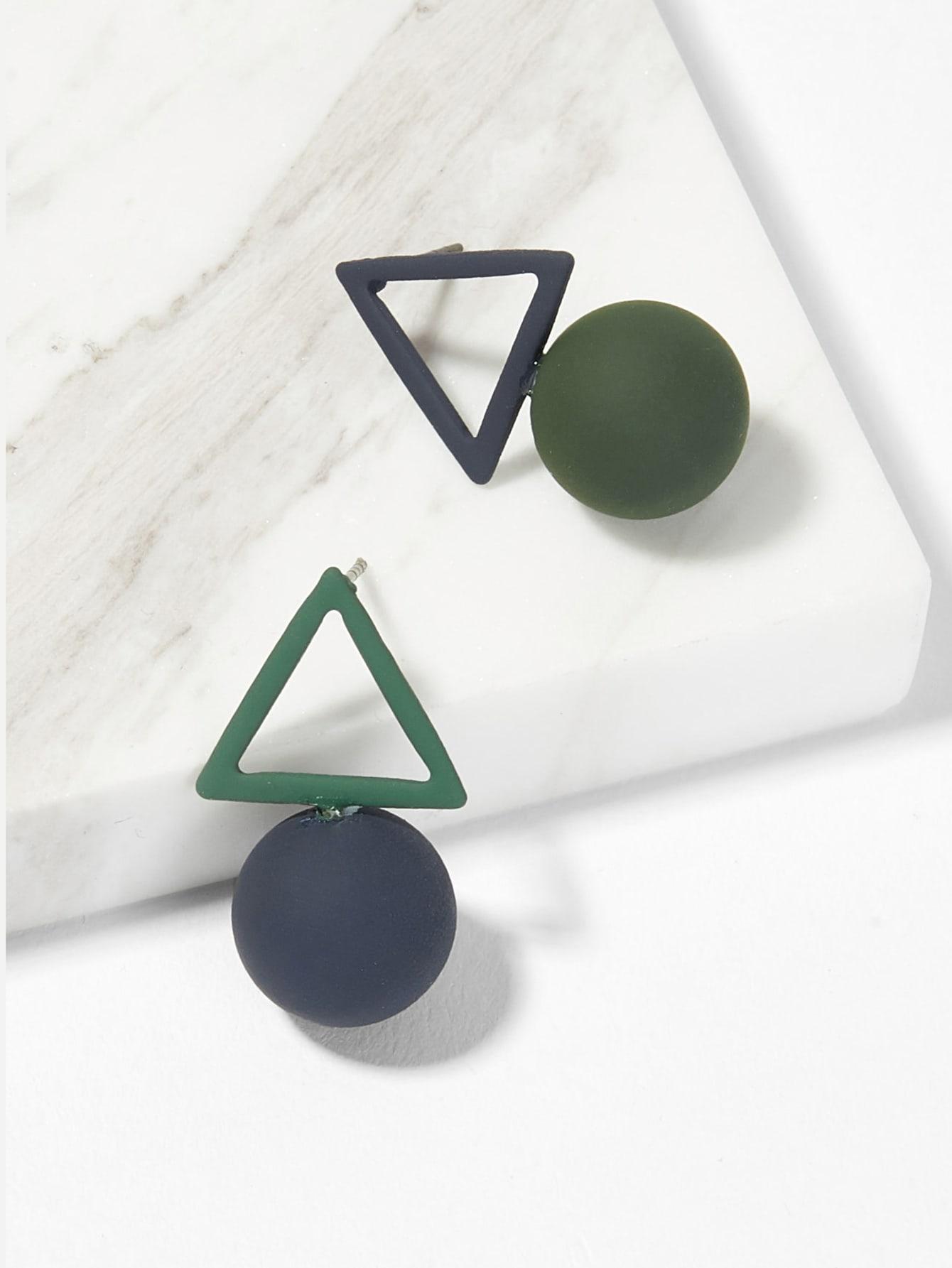 Купить Пуссеты с украшением открытого треугольника и мяча, null, SheIn