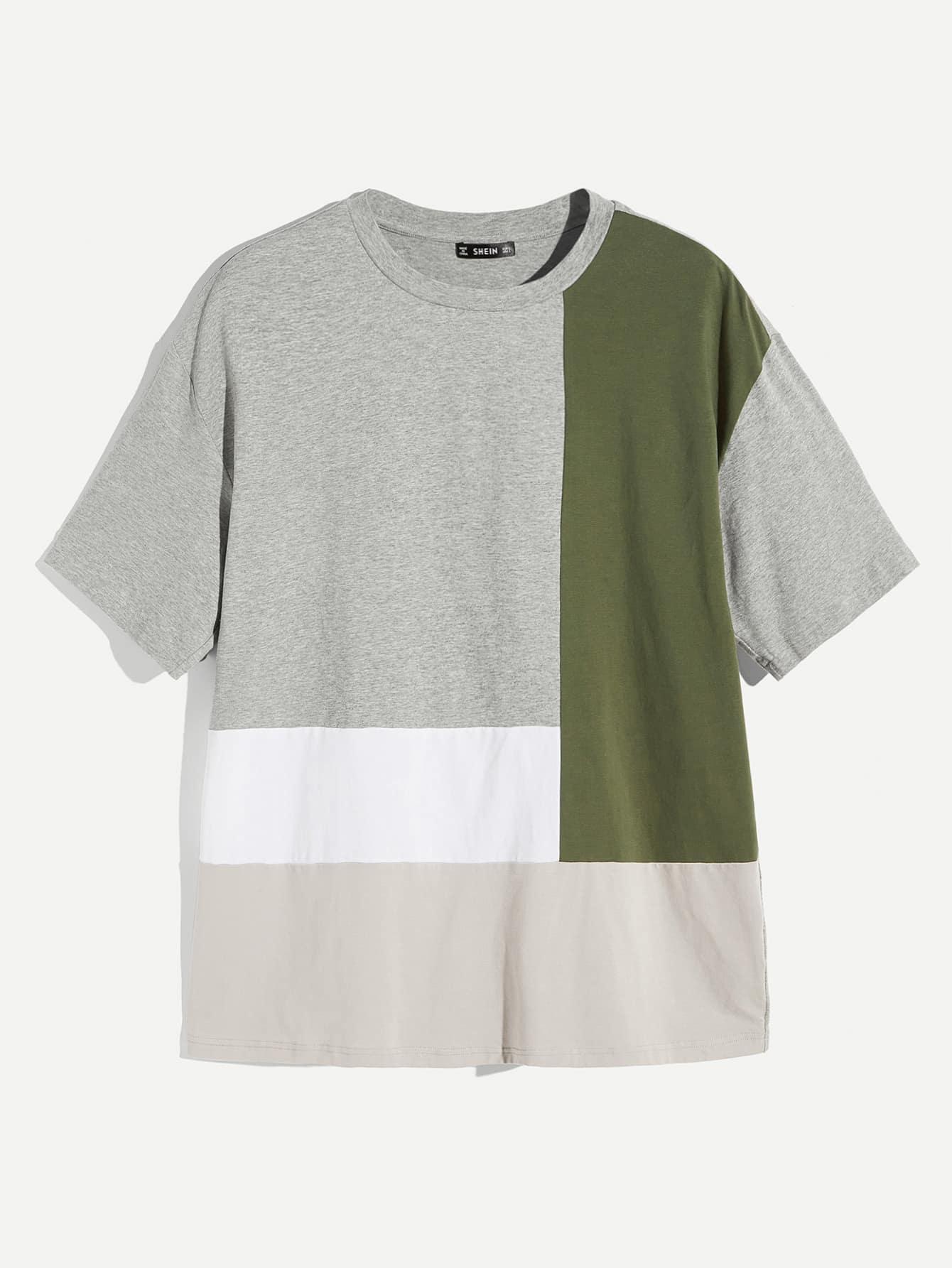 Купить Кроить и шить мужская футболка с коротким рукавом, null, SheIn