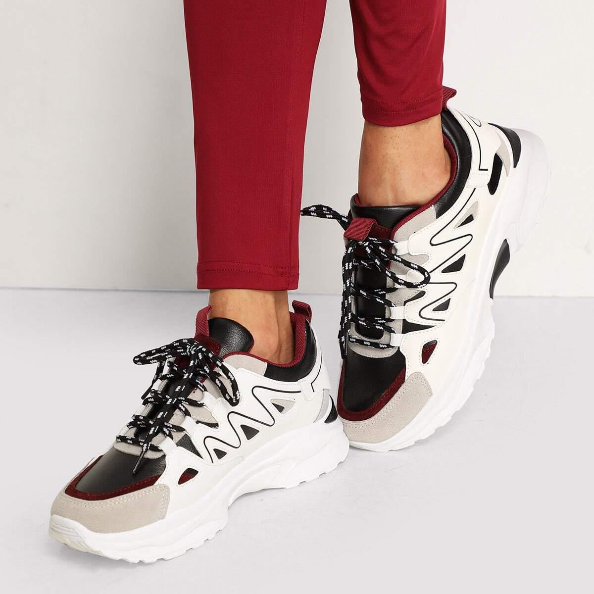 Vetzachte stevige sneakers