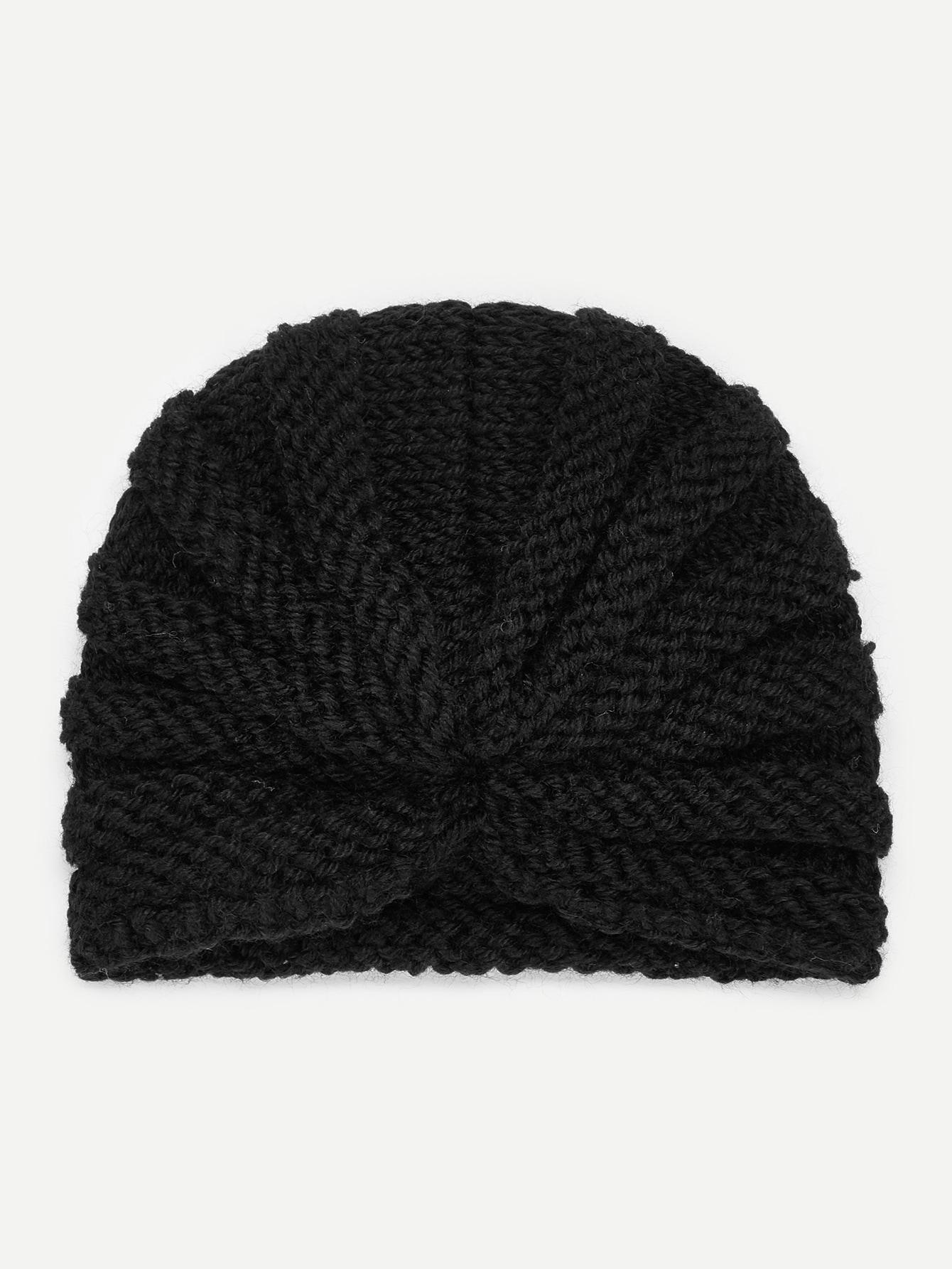 Купить Однотонная вязаная шляпа для детей, null, SheIn