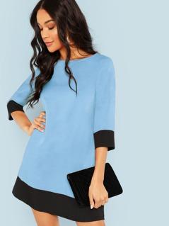 Cut & Sew Tunic Dress