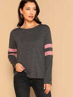 Heathered Knit T-shirt