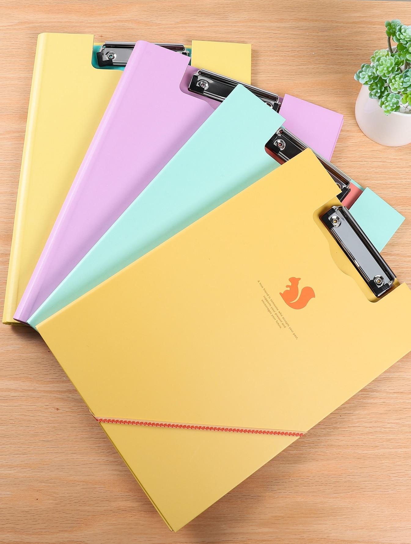 Купить Произвольная цветная сумка для хранения документов 1шт, null, SheIn