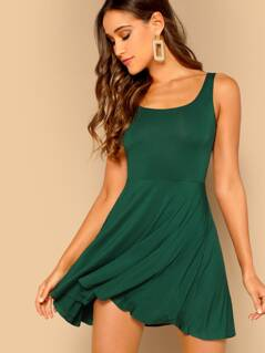 Fit and Flare Tank Dress