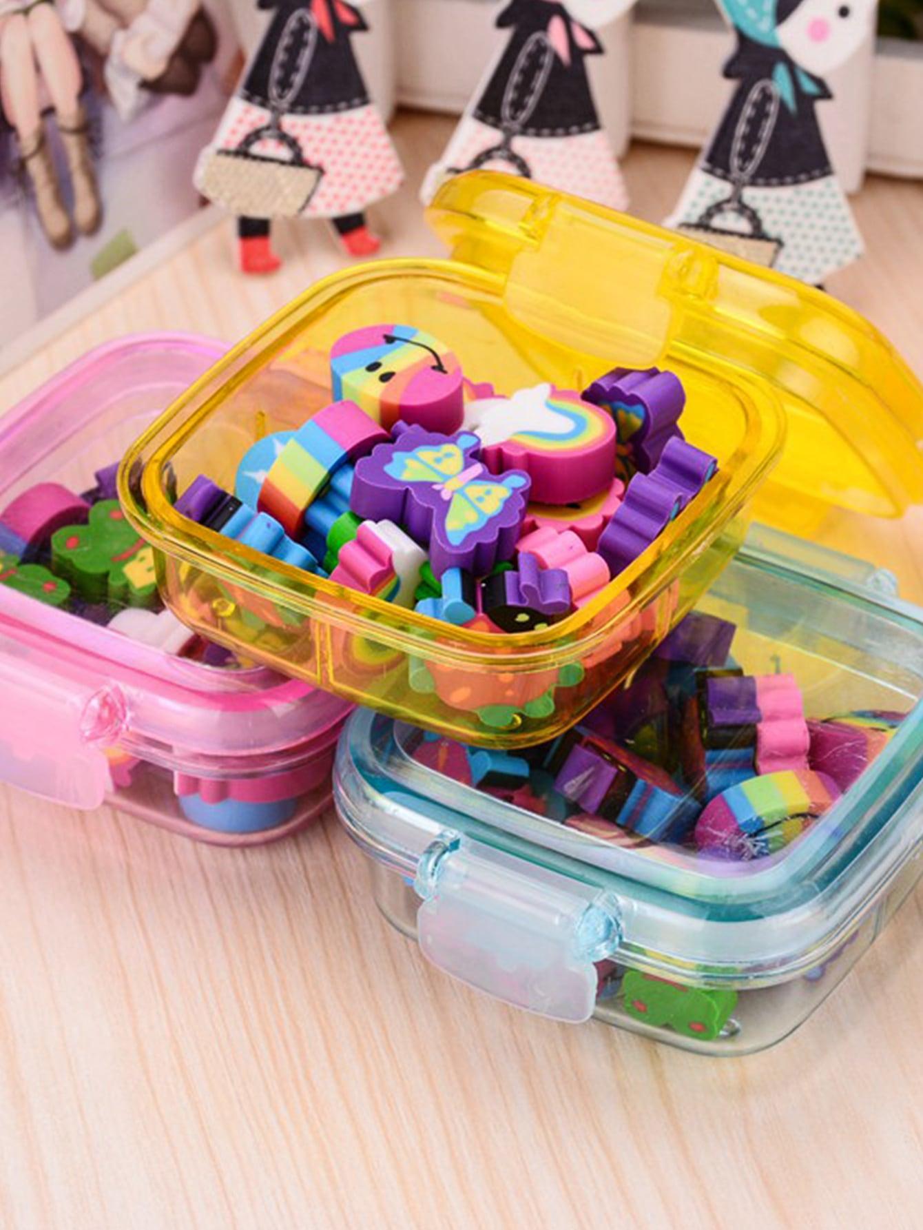 Купить Ластики в штучной упаковке расцветка произвольная 1pack, null, SheIn