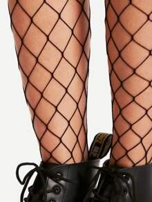 Black Glamorous Plain Socks & Tights, size features are:Bust: ,Length: ,Sleeve Length: