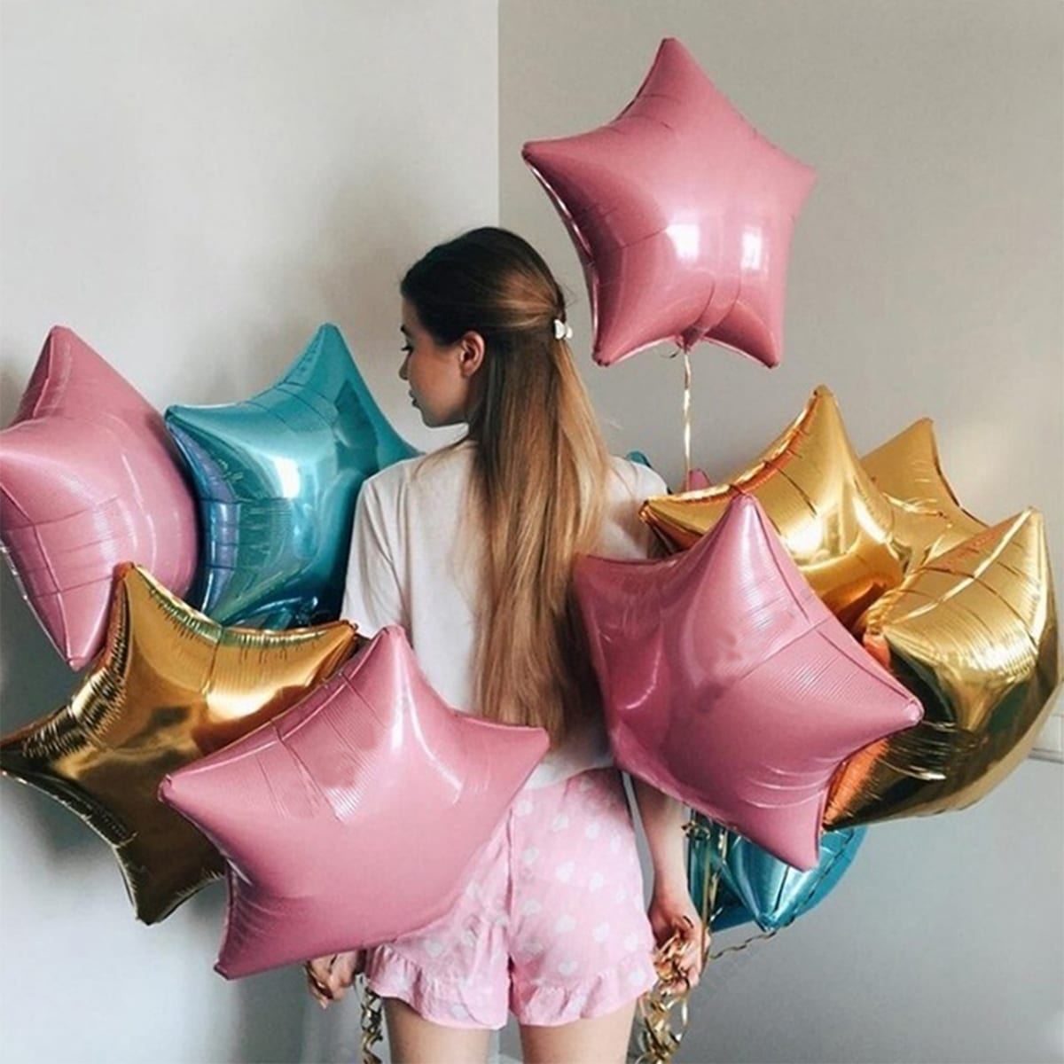 Stervormige ballon 5st
