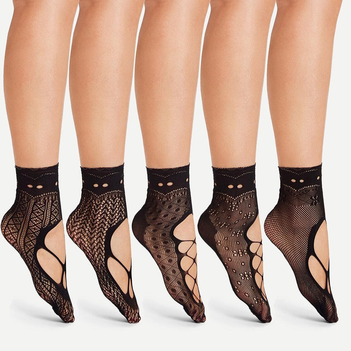 Выдолбленные чистые носки 5 пары фото