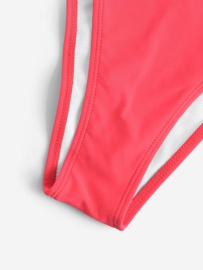 e807a1e255f4 Ruffle Strap Top With Tanga Panty Bikini Set, null. артикул: 70875