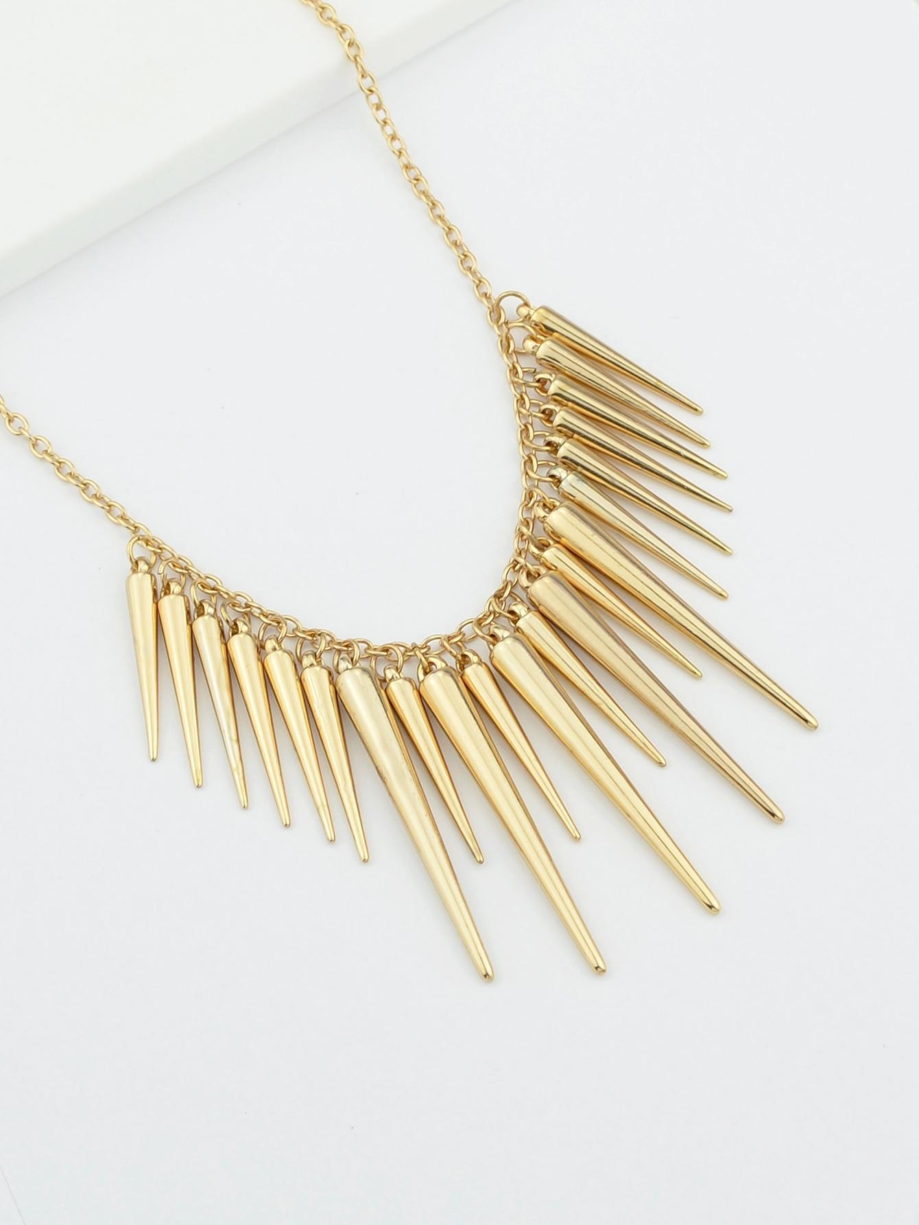 Позолоченное ожерелье спайка от SheIn
