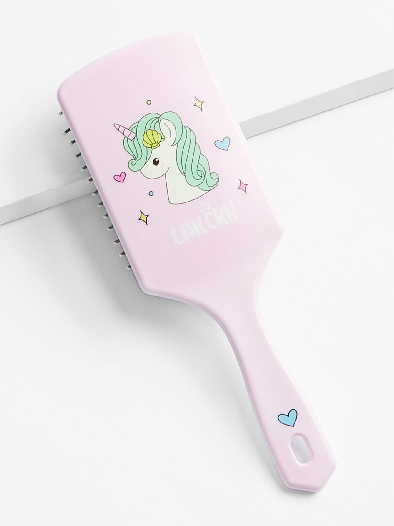 Купить Расческа с графическим принтом для волос, null, SheIn