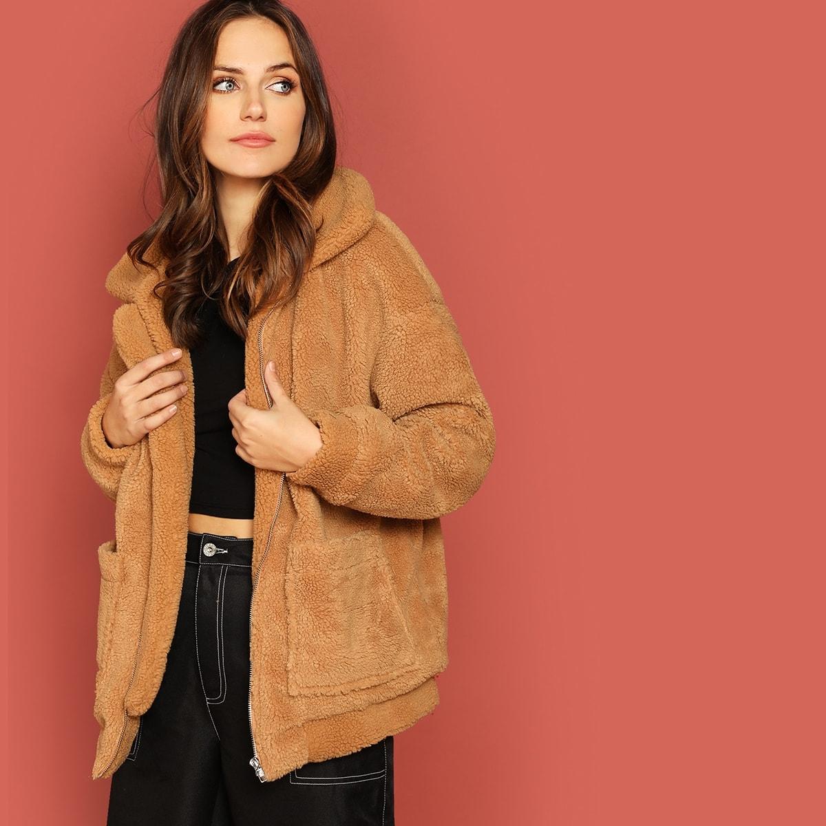 Zachte, oversized mantel