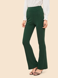 High Waist Flare Leg Pants