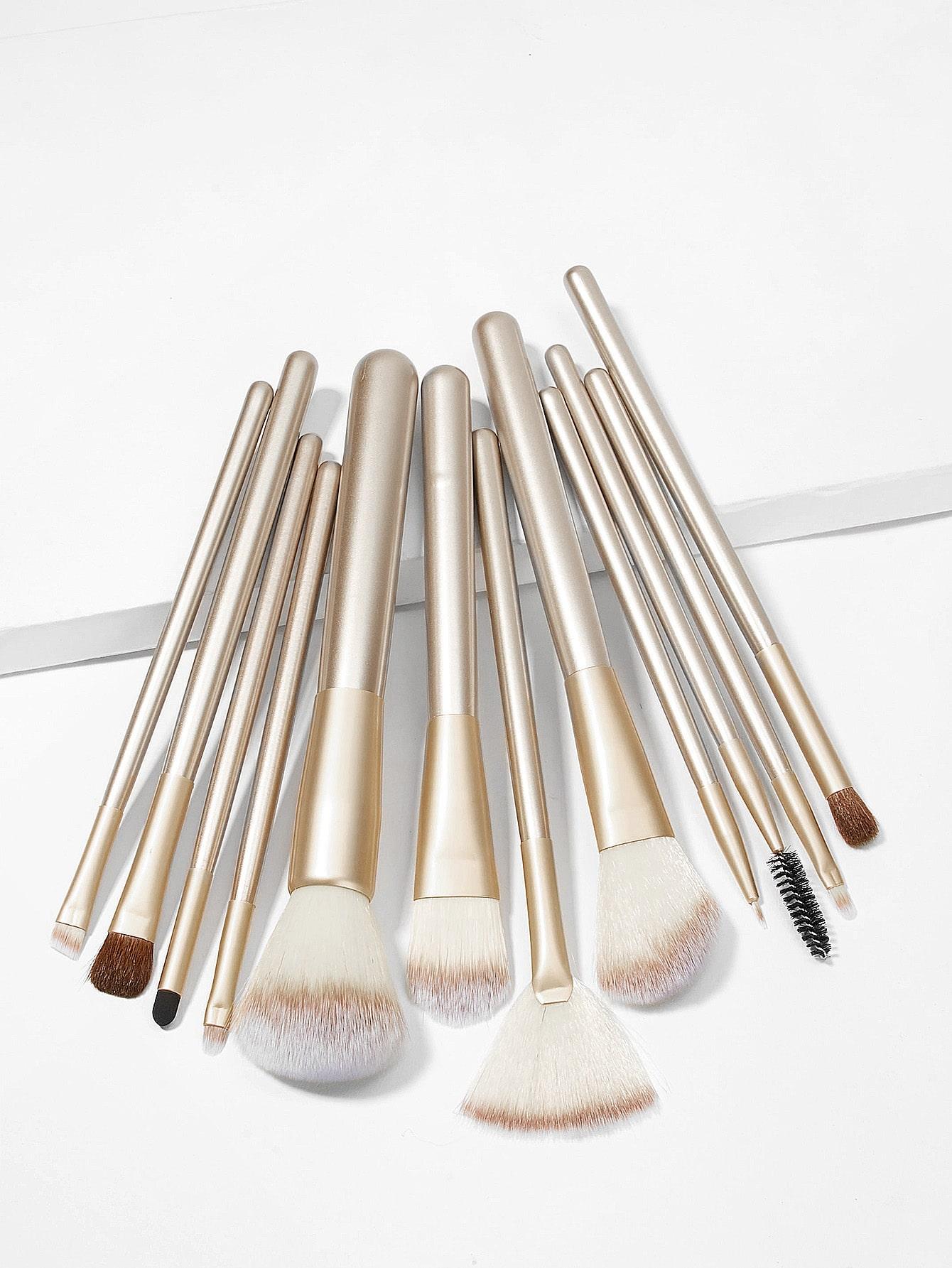 Купить Набор кистей для макияжа 12шт., null, SheIn
