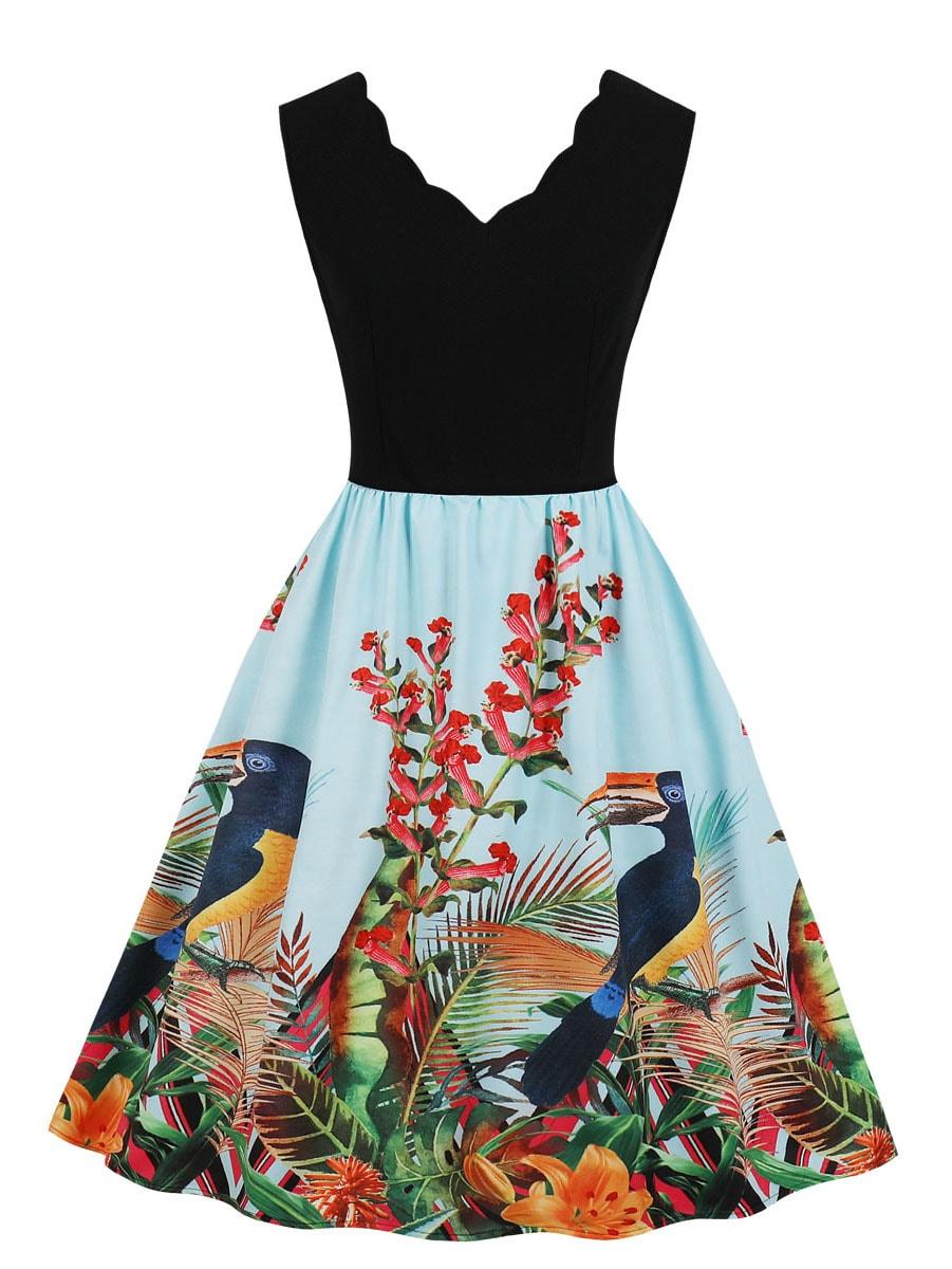 Джинсовая юбка  Цветахаки цвета