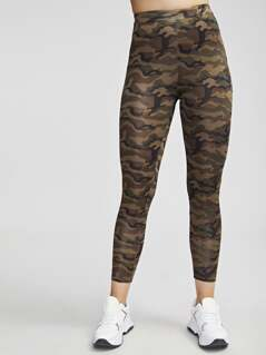Cropped Camo Leggings